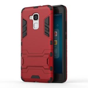Huawei Honor 7 Lite - etui na telefon - Dwuczęściowe Czerwone