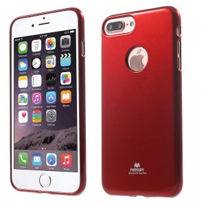 Apple iPhone 7 Plus - etui na telefon - Newsets Czerwone