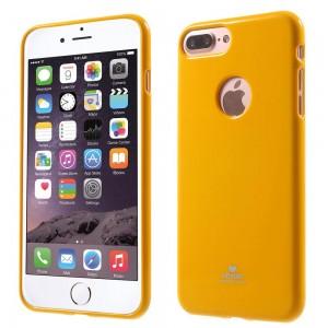Apple iPhone 7 Plus - etui na telefon - Newsets Żółte
