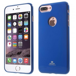 Apple iPhone 7 Plus - etui na telefon - Newsets Ciemnoniebieskie