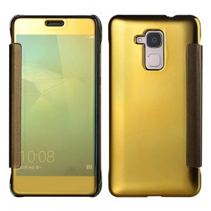 Huawei Honor 7 Lite - etui na telefon - Lustro Złote