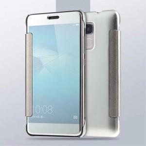 Huawei Honor 7 Lite - etui na telefon - Lustro Srebrne