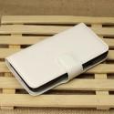 Huawei Ascend Y330 Portfel Etui – Litchi Białe