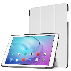Huawei MediaPad T2 10.0 - etui na tablet - Białe