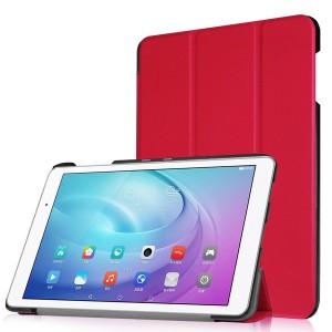 Huawei MediaPad T2 10.0 - etui na tablet - Czerwone