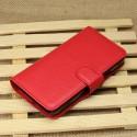 Huawei Ascend Y330 Portfel Etui – Litchi Czerwony