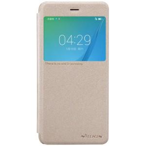 Huawei Nova - etui na telefon - Nillkin Sparkle Złote