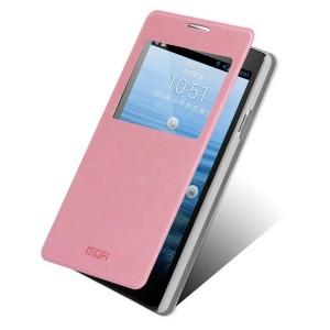 Huawei Ascend G700 - etui na telefon - MOFI różowe