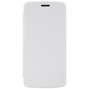 Motorola Moto Z Play - etui na telefon - Nillkin Sparkle białe