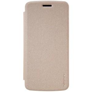 Motorola Moto Z Play - etui na telefon - Nillkin Sparkle Złote