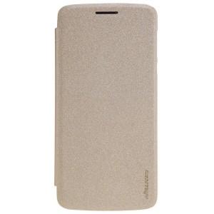 Motorola Moto Z - etui na telefon - Nillkin Qin Złote