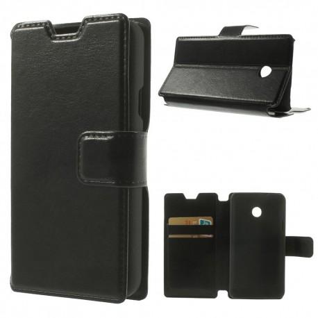 Huawei Ascend Y330 - etui na telefon i dokumenty - CH czarne