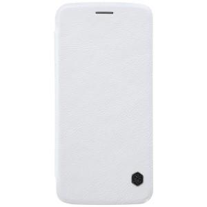 Motorola Moto Z - etui na telefon - Nillkin Qin Białe