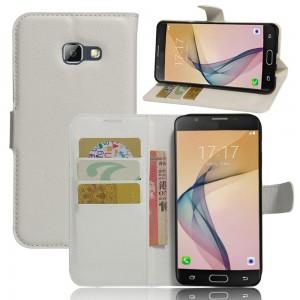 Samsung Galaxy A5 (2017) - etui na telefon i dokumenty - Białe