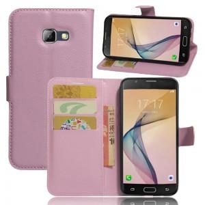 Samsung Galaxy A5 (2017) - etui na telefon i dokumenty - Jasnoróżowe