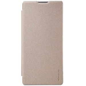 Sony Xperia XA Ultra - etui na telefon - Nillkin Sparkle złote