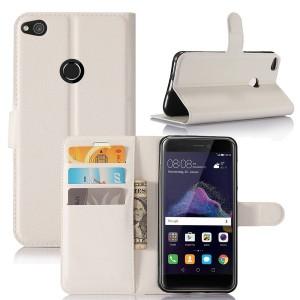 Huawei Honor 8 Lite - etui na telefon i dokumenty - Białe