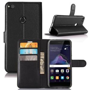 Huawei Honor 8 Lite - etui na telefon i dokumenty - Czarne
