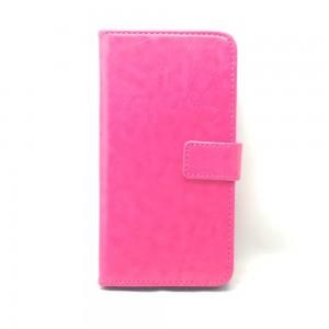 Huawei Honor 8 Lite - etui na telefon i dokumenty - CH Różowe