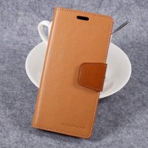 Samsung Galaxy S8 - etui na telefon i dokumenty - Sonata Brązowe