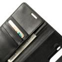 LG G3 Black Goospery Sonata Wallet Case