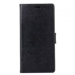 Samsung Galaxy Xcover 4 - etui na telefon i dokumenty - Litchi Czarne