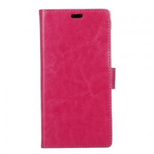 Samsung Galaxy Xcover 4 - etui na telefon i dokumenty - Litchi Różowe