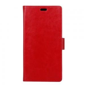 Samsung Galaxy Xcover 4 - etui na telefon i dokumenty - Litchi Czerwone