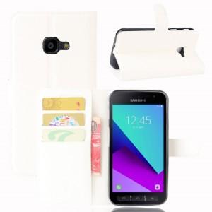 Samsung Galaxy Xcover 4 - etui na telefon i dokumenty - Białe