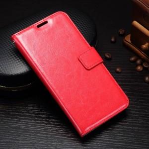 Samsung Galaxy J5 (2017) - etui na telefon i dokumenty - Czerwone