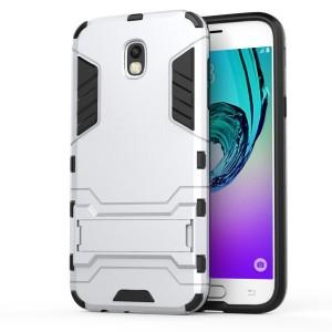 Samsung Galaxy J5 (2017) - etui na telefon - Srebrne