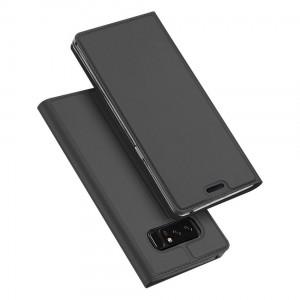 Samsung Galaxy Note 8 - etui na telefon i dokumenty - Dux Szare