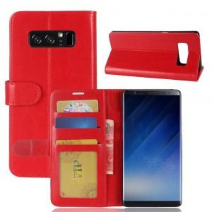 Samsung Galaxy Note 8 - etui na telefon i dokumenty - CH Czerwone