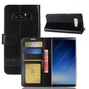 Samsung Galaxy Note 8 - etui na telefon i dokumenty - CH Czarna
