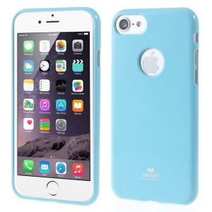 Apple iPhone 7 / 8 - etui na telefon - Newsets Jasnoniebieski