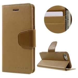 Apple iPhone 7 / 8 - etui na telefon i dokumenty - Sonata Brązowe