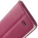 LG G3 S Portfel Etui – Litchi Różowy