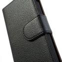 LG Nexus 5 Portfel Etui – Litchi Czarne