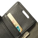 LG G2 Mini Portfel Etui – Litchi Czarne