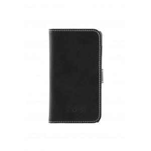 LG Optimus L5 II - etui skórzane na telefon i dokumenty - Insmat czarne