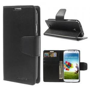 Samsung Galaxy S4 - etui na telefon i dokumenty - Sonata czarne