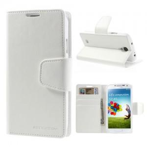 Samsung Galaxy S4 - etui na telefon i dokumenty - Sonata białe