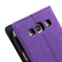 Samsung Galaxy S3 Portfel Etui – Fancy Purpurowy