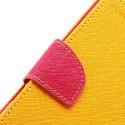Samsung Galaxy S3 Portfel Etui – Fancy Żółty