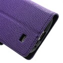 Samsung Galaxy S4 Mini Portfel Etui – Fancy Purpurowy