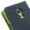 Samsung Galaxy S4 Mini Portfel Etui – Fancy Niebieski