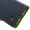 Samsung Galaxy S4 Mini Portfel Etui – Fancy Niebieski