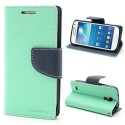 Samsung Galaxy S4 Mini Portfel Etui – Fancy Cyjan