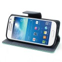 Samsung Galaxy S4 Mini Portfel Etui – Fancy Cyjan