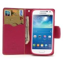 Samsung Galaxy S4 Mini Portfel Etui – Fancy Żółty